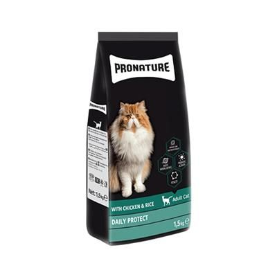 PRONATURE CHICKEN&RICE ADULT CAT 1,5KG